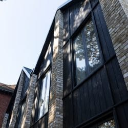 HLM architects use Charred Kebony® on exterior cladding