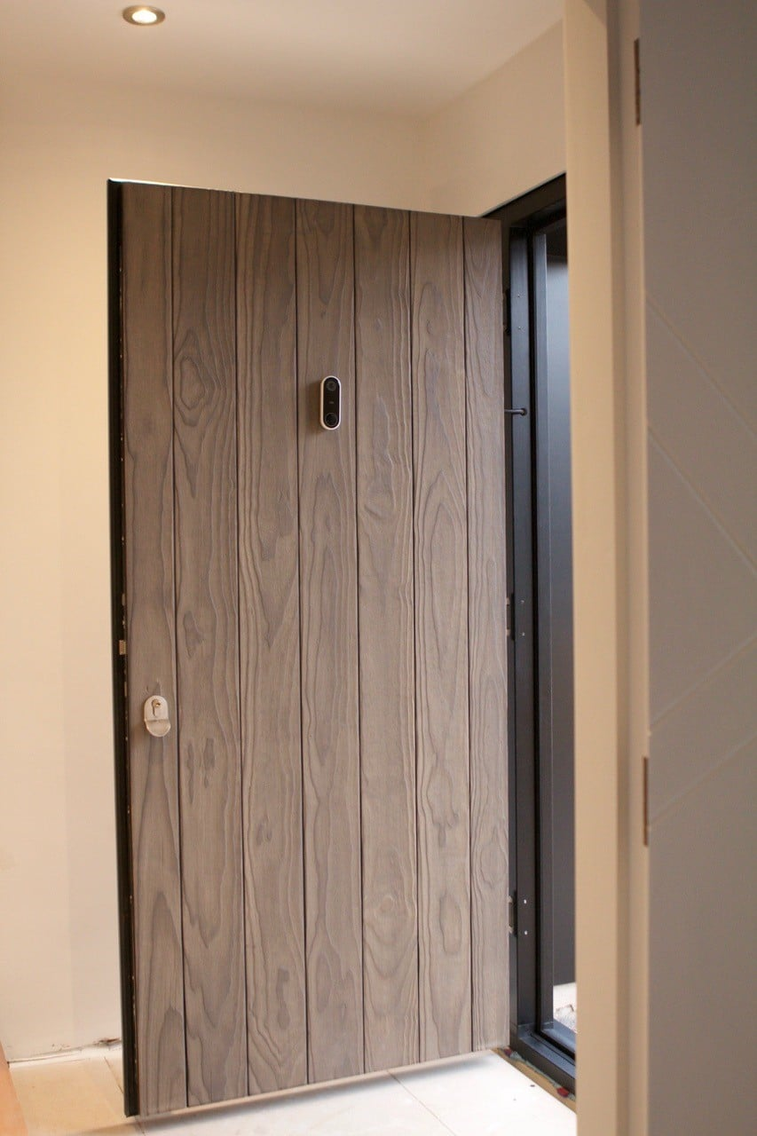 Architectural Charred Accoya® Doors by Real Doors Ltd
