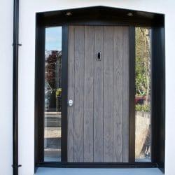 Shou Sugi Ban Charred Accoya Door