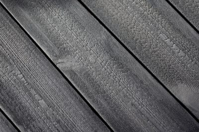 Charred Kebony Cladding swatch
