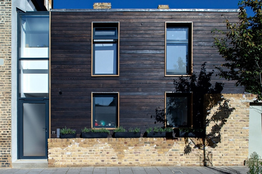Charred Cedar Cladding
