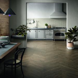 Arthis interior wood effect porcelain tile flooring